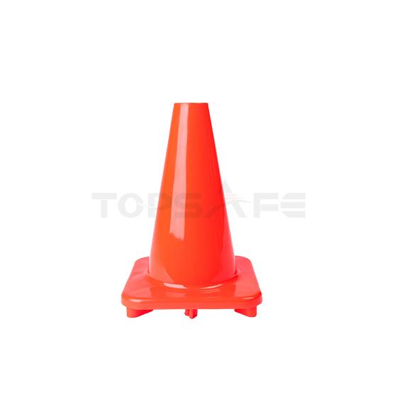 30cm Orange Solid PVC Traffic Cones
