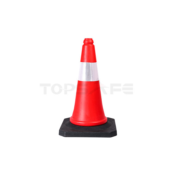 50cm PE Traffic cones