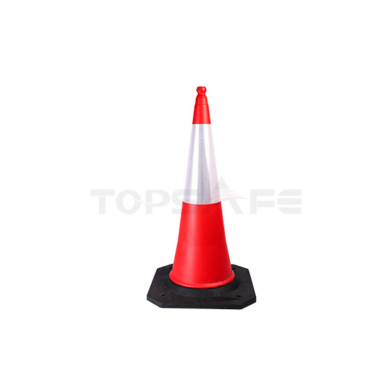 100cm heavy duty PE Traffic cones