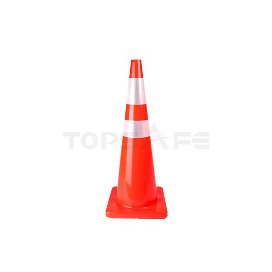 90cm Orange Solid PVC Traffic Cones
