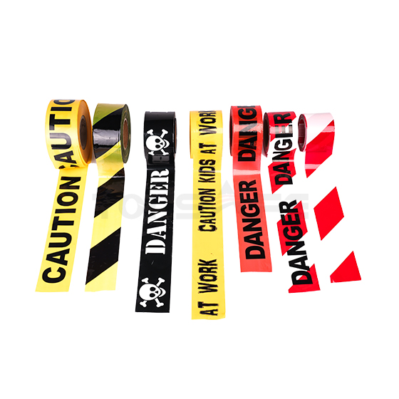 Yellow/Black Caution Safety Barrier Tapes
