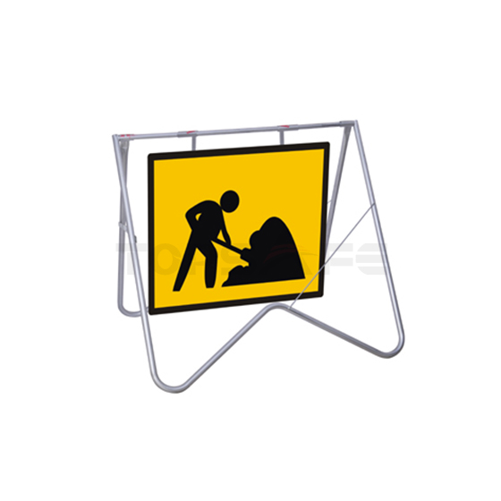 How To Install Road Sign Swing Stands