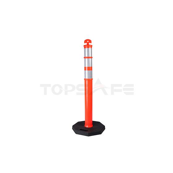 Delineator posts Grip top
