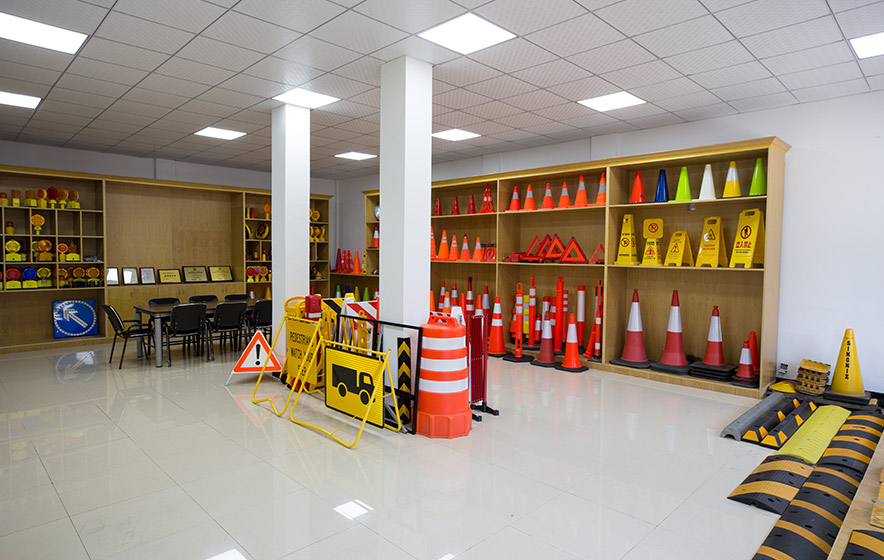 Show Room of Traffic Safety Products